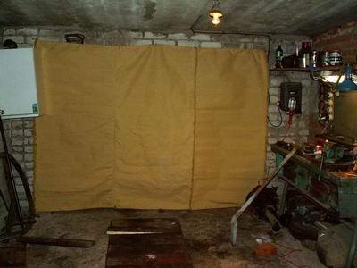 Как сделать штору для гаража 384